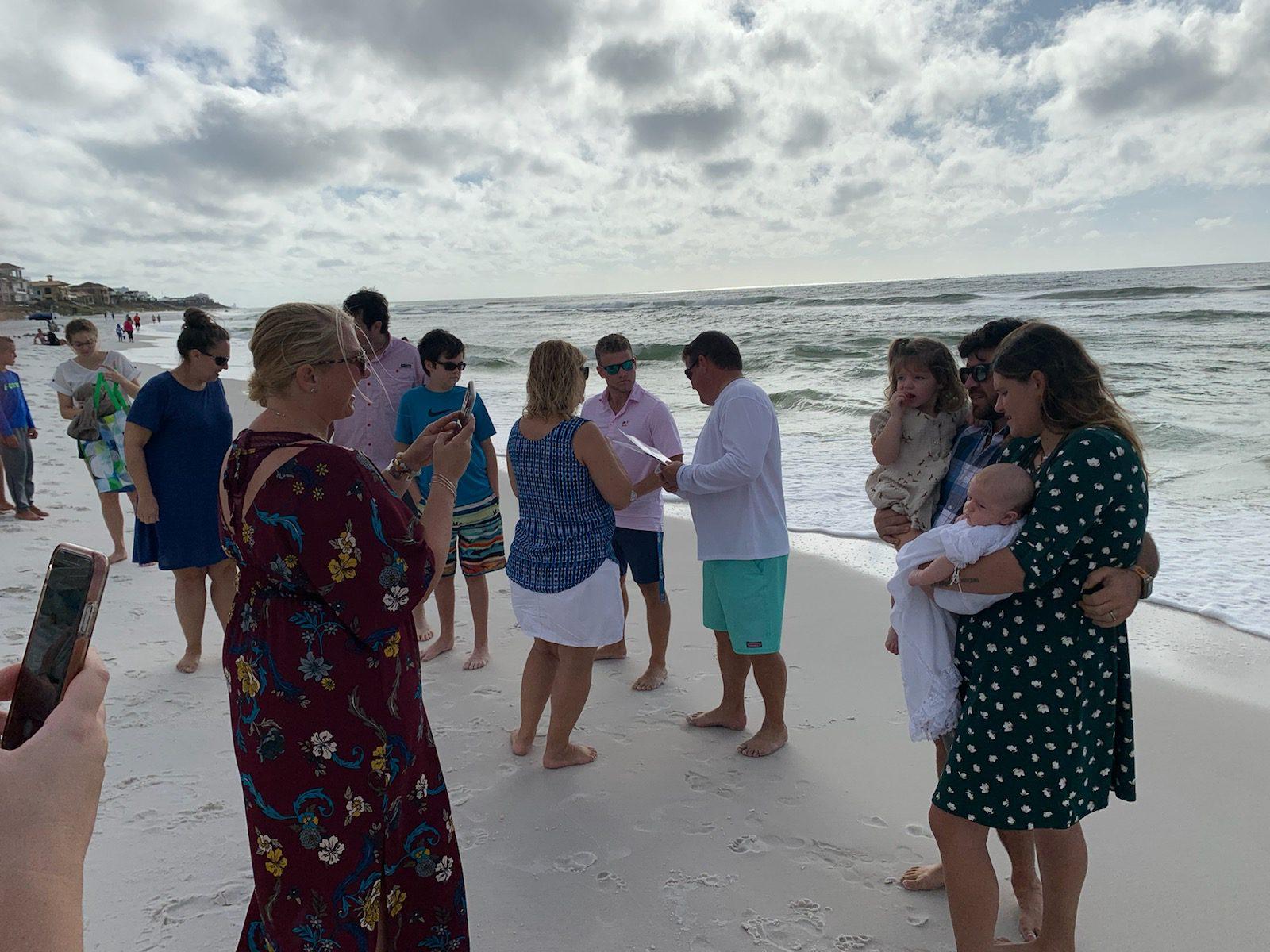 21 Beach Baptisms